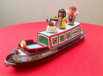 Rosie And Jim Canal Boat Barge Narrowboat Bath Toy & Figures - Complete - Rare!