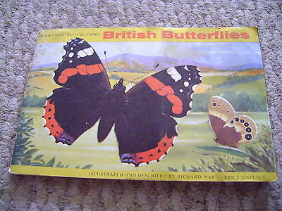 British Butterflies Album & Cards Full Set By Brooke Bond Tea
