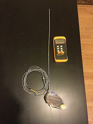Long Thermocouple With Digital Meter