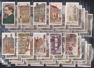 R & J Hill Ltd., Historic Places From Dickens' Classics, Series Of 50 (1926)