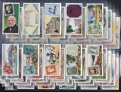"Ardath, Stamps Rare & Interesting, Original Set Of 50 Issued In 1939 ""vg/exc"""