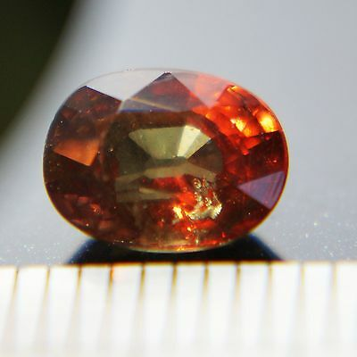 RARE! 1.80 CT CHANGE COLOR NATURAL BROWNISH-GREEN TO RED GARNET (CchG-202)