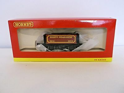 'New' OO Gauge R6684 Hornby Roadshow 2014 7 Plank Wagon (boxed) - new