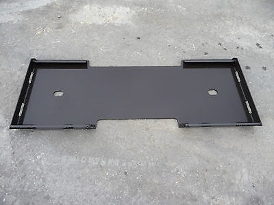 Bobcat Kubota Quick Attach Attachment Skid Steer Mount Weld Plate - Free Ship!!