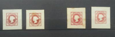 helgoland stamps collection mint used