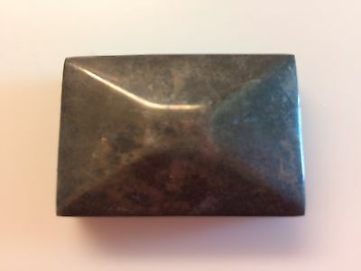 1930s Vintage Sterling Silver Trinket Pill Box Taxco 925 Mexico