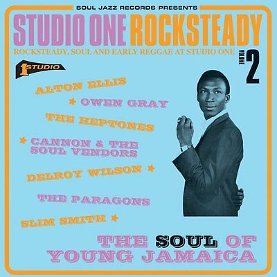Studio One Rocksteady 2: The Soul Of Young Jamaica - New Vinyl Lp - Pre-Order