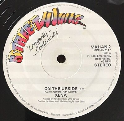 """Xena - On The Upside Streetwave 12"""" Streetsounds Electro 2"""