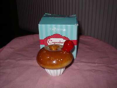 Boxed Caithness Cup Cake Paperweight