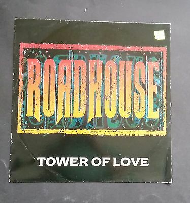 Roadhouse (ex Def Leppard pete willis) Tower of love 12inch single