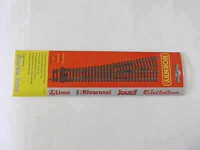 Hornby Nickel Silver Track Left Hand  Express Points R8077 - OO gauge