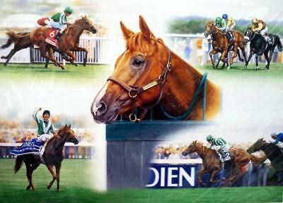 Stephen Smith Lammtarra signed by Le Franco Dettori Limited edition print