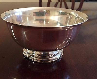 Sterling Silver Newp0Rt Revere Bowl 5 Inch
