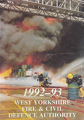 West Yorkshire Fire & Civil Defence Authority Report 1992-93