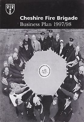 Cheshire Fire Brigade Business Plan 1997/98