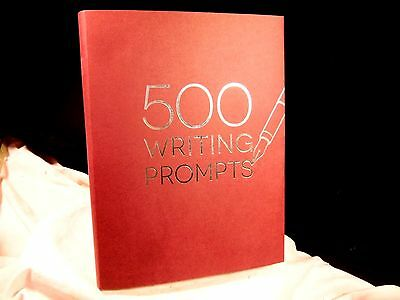 New 500 Writing Prompts By Piccadilly Creative Writing Journal Great Gift!