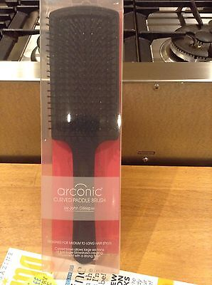 Arconic Curved Paddle Brush by John Gillespie