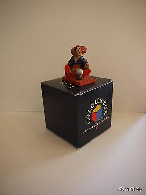 Peter Fagan Colourbox Teddy Bears boxed Claire Fortune Telling TC071
