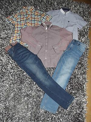 Boys Bundle From Next Age 8 Jeans & Shirts Must See !!!