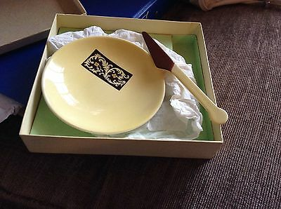 Carlton Ware Butter Dish And Knife