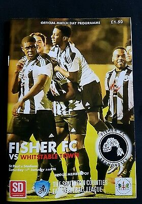 Fisher v Whitstable Town 2016 - 2017