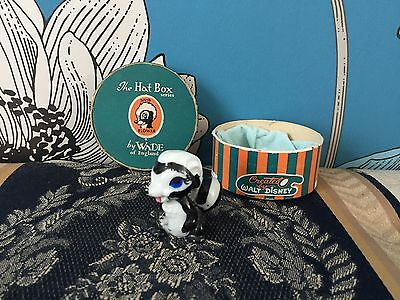 Very Collectable & Rare Wade Disney Hatbox Flower from Bambi - Boxed - No 9