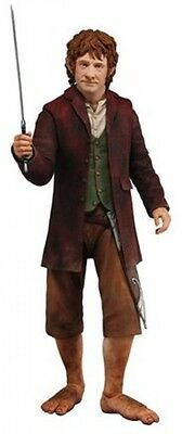 Neca 1:4 Scale The Hobbit Bilbo Baggins Poseable Action Figure
