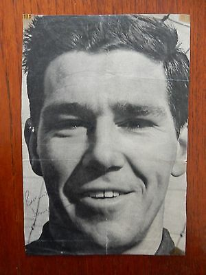 Signed Picture, Tony Waiters - Blackpool & Burnley