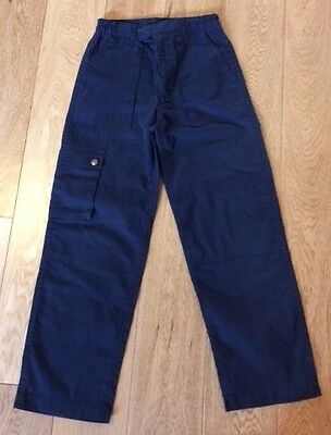 David Luke Boys blue cubs/scout trousers size 9-10 years