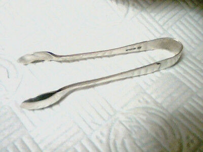Vintage;1924;;ornate;;heavy Solid Silver Sugar Tongs; ;;h.marked;see Pics;