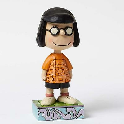 Jim Shore  serie Charlie Brown e Peanuts Modest Marcie resina