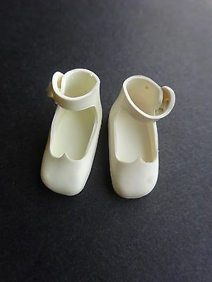 "Vintage Betsy McCall 8"" White shoes"