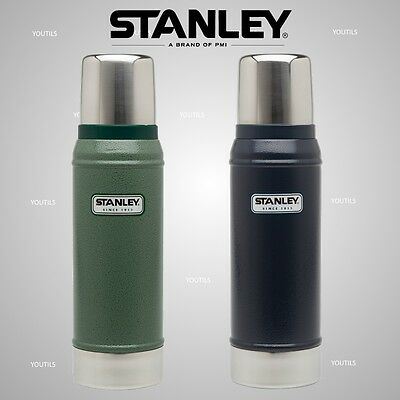 Stanley CLASSIC Stainless Steel Vacuum Bottle 750ml Green / Blue