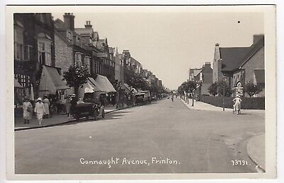 Essex Frinton Connaught Avenue (Shop Fronts) Real Photo Postcard