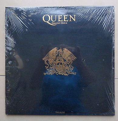Queen Greatest Hits II Vinyl 2LP Set. UNWRAPPED FROM NEW