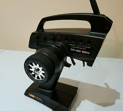 Hpi Racing Tf-40 2.4Ghz 3 Channel 3Ch Radio And Receiver Tx/rx Rf-40