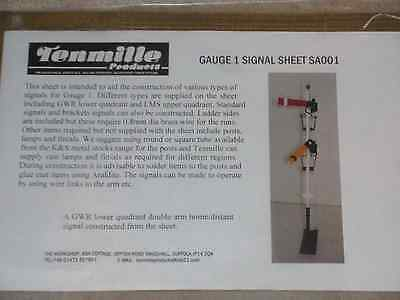 Tenmile Guage 1 Signal Sheet Kit