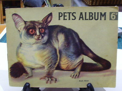 Hornimans Pets Vintage Full Tea Card Album