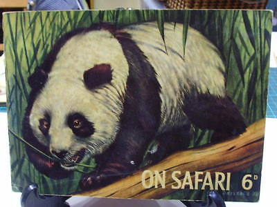 Hornimans On safari Vintage Tea Card Album  1 missing