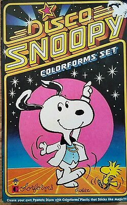 1978 Disco Snoopy Colorforms Set - Complete