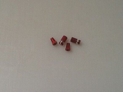 Pair of Joy stick ends (red) for Futaba handset viper bait boats