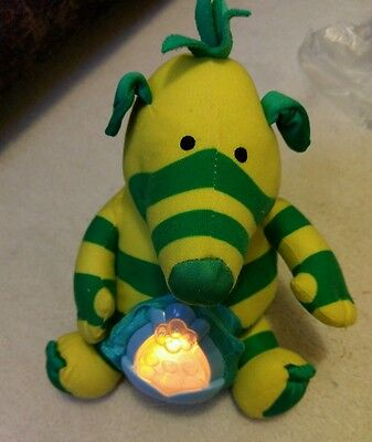 Sooth n Glow Baby Fimbo BBC TV Fimble interactive talking and light up soft toy