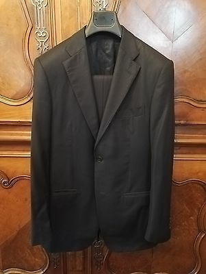 Costume bleu Lubiam LBM - Blue suit - Made in Italy 38 / 48 Laine Wool