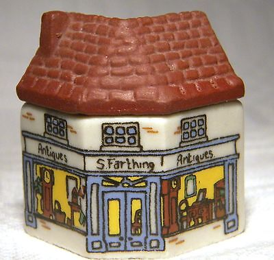 Wade Whimsey-On-Why  Miniature House S Farthing Antique Shop