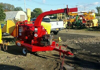 Morbark 2060 6 inch chipper compact 25 hp Kohler Excellent Condition work ready