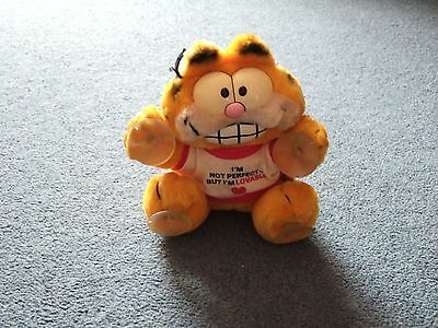 Vintage Original Garfield Car Window Stick - I'm Not Perfect But I'm Loveable