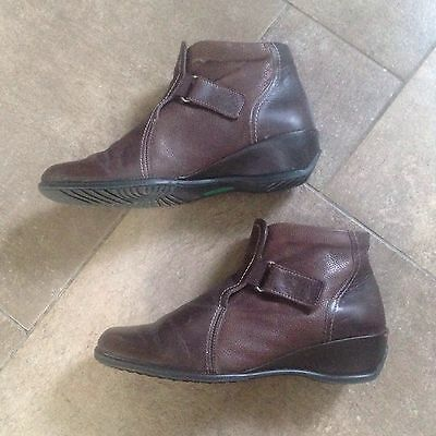 ladies leather ankle boots size 7