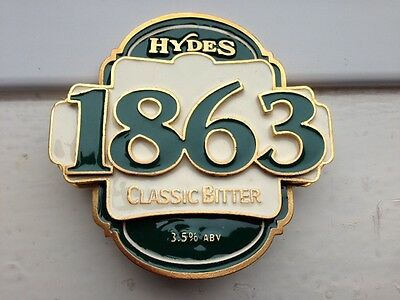 Hydes Classic Bitter Pump Clip -  Excellent condition, with screws and clip