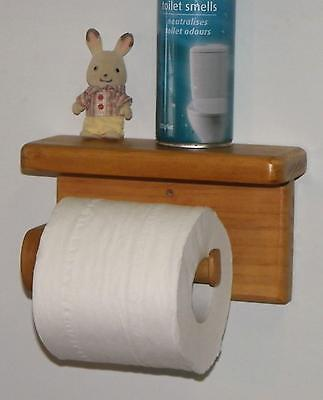 toilet roll holder,wooden,hand made,unique!!