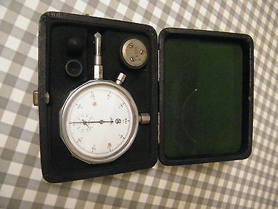 Vintage tachometer (rpm meter) - Swiss made, complete with instructions